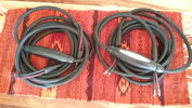 Audioquest Gibraltar Speaker Cables &  Acoustic Zen, Transparent MM2