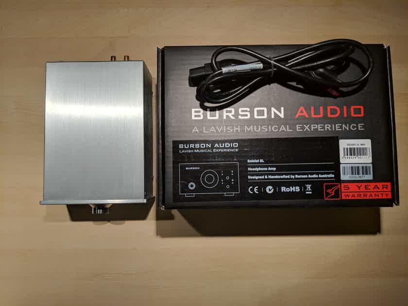 Burson Audio Soloist SL MKII Headphone Amp (Silver)
