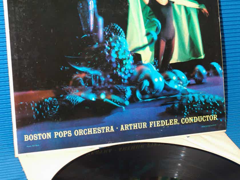 """TCHAIKOVSKY / Fiedler  - """"The Nutcracker"""" -  RCA """"Shaded Dog"""" 1958 Stereo"""