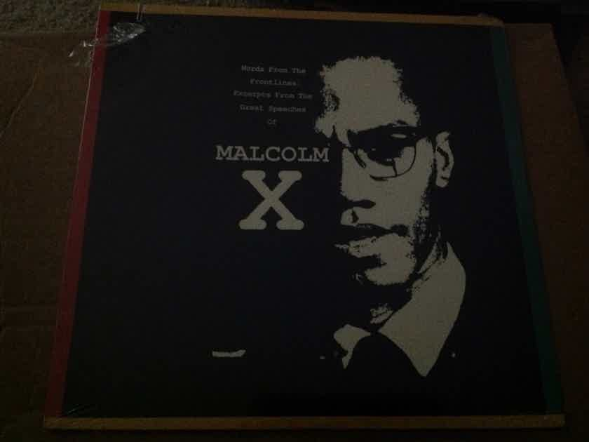 Malcolm X - Excerpts From The Great Speeches Of Malcolm X RCA BMG Records Sealed Vinyl LP