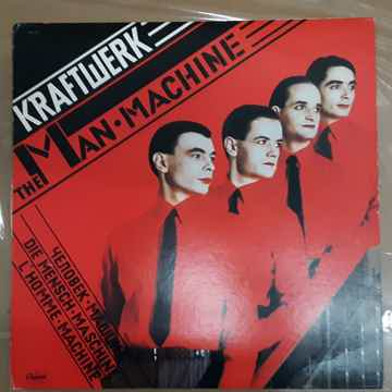 Kraftwerk - The Man • Machine 1978 Original Vinyl LP WI...
