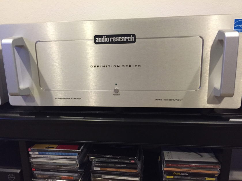 Audio Research D-450 Stereo Amplifier
