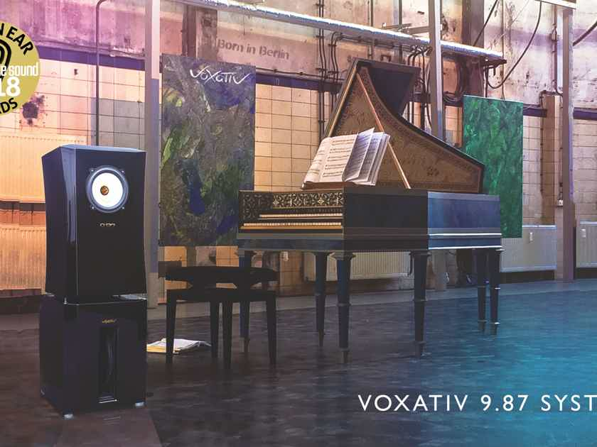 Voxativ 9.87 System From the Showroom