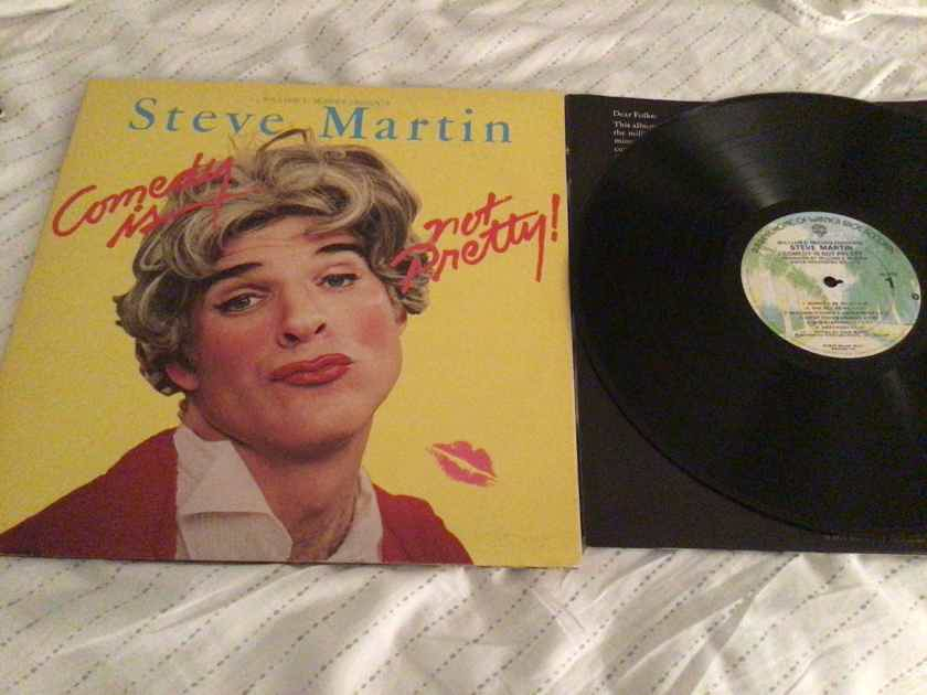 Steve Martin - Comedy Is Not a Pretty! Warner Brothers Records Vinyl LP  NM