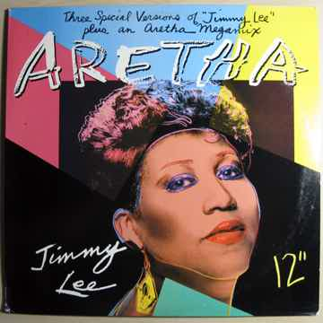 Aretha Franklin Jimmy Lee / Aretha Mega Mix - 12 Inch Maxi-Single