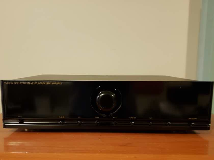 Musical Fidelity Elektra E100 Integrated Amplifier. Reduced.