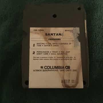Santana Santana Quadraphonic 8 Track
