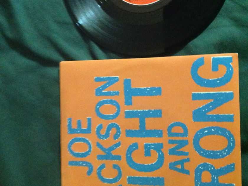 Joe Jackson  - Right And Wrong 45 With Sleeve
