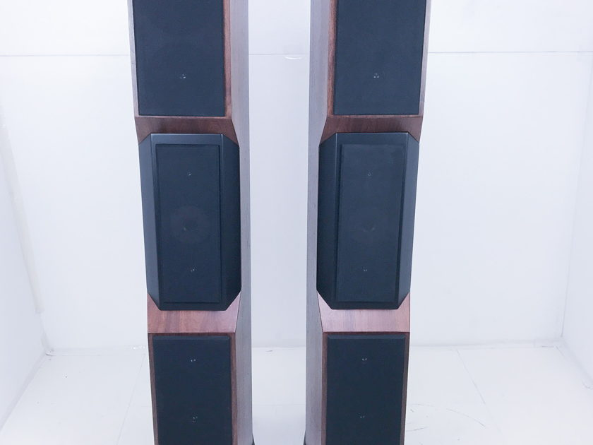 Tyler Acoustics Decade D1 Floorstanding Speakers w/ Stands; Dark Cherry (3212)