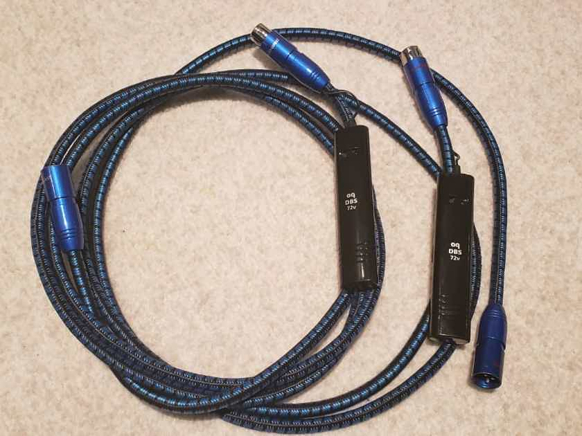 AudioQuest SKY XLR balanced interconnect - 6ft / 2m / DBS 72v (Make Offer!)