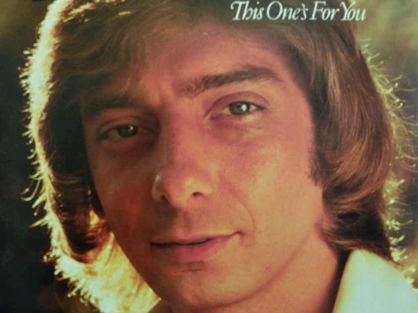 BARRY MANILOW - THIS ONE'S FOR YOU NM