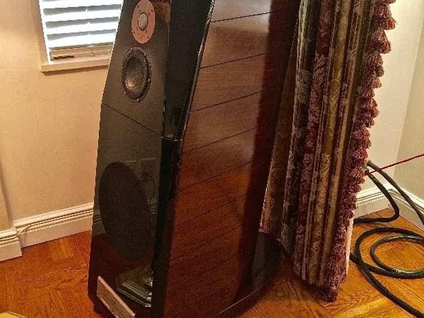 USHER B-10 speakers Newest Cardas Internal Wiring with DIAMOND TWEETERS