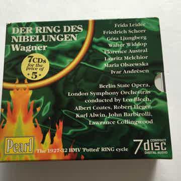 Wagner Leider Schorr LJungberg Widdop  Der Ring Des Nibelungen 7 Cd box set Pearl