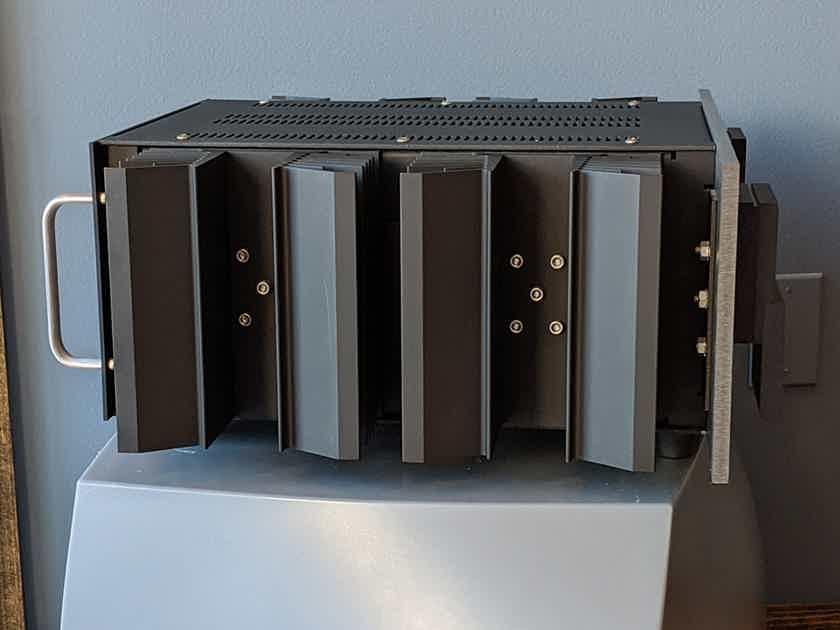 Krell KSA-150 Stereo Power Amplifier, Dark Grey/Black Finish