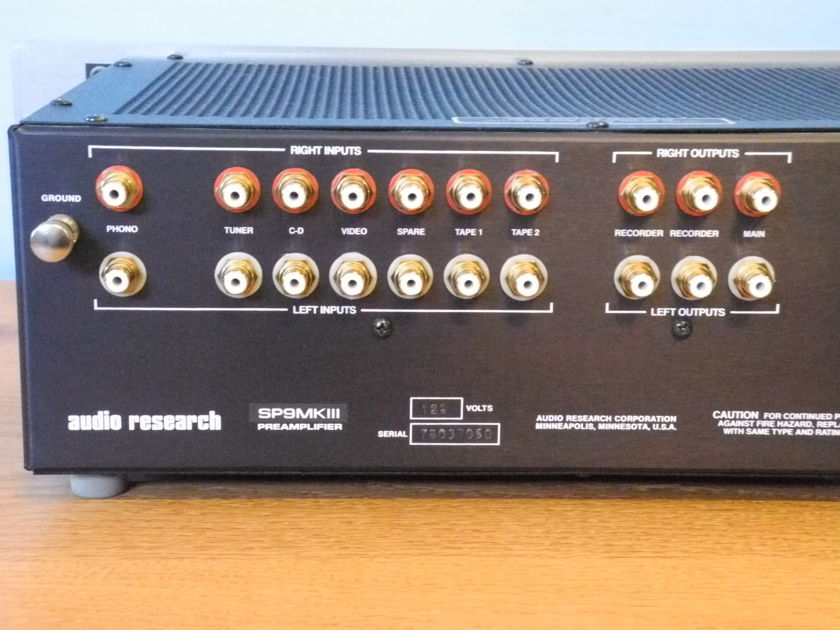 Audio Research SP-9 Mark 3 NEW PRICE REDUCTION!!!!!!!!!!!!