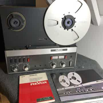 Revox A-77 Reel to Reel Tape Recorder in Excellent cond...