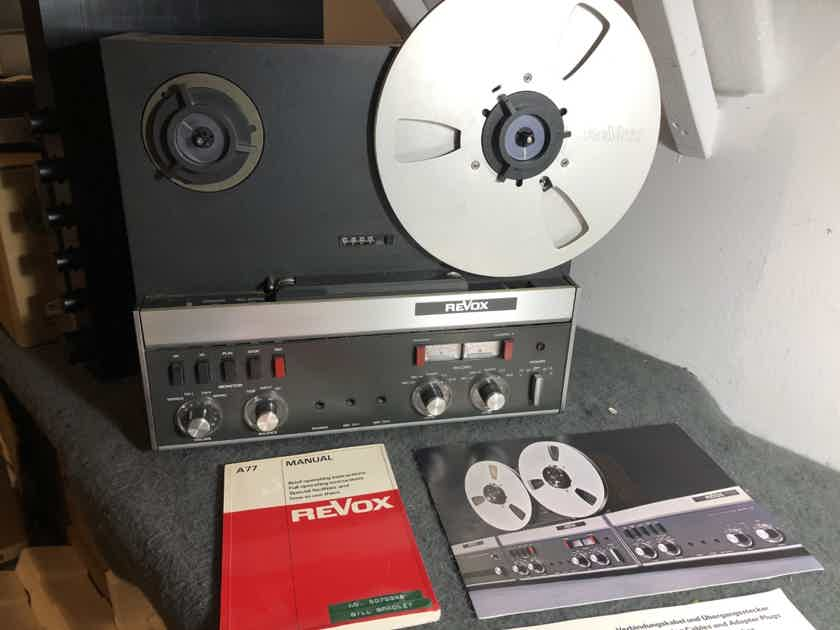 Revox A-77 Reel to Reel Tape Recorder in Excellent condition w metal take up reel