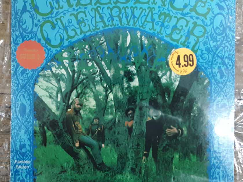 Creedence Clearwater Revival - Creedence Clearwater Revival SEALED 1969 Repress Vinyl LP Fantasy 8382