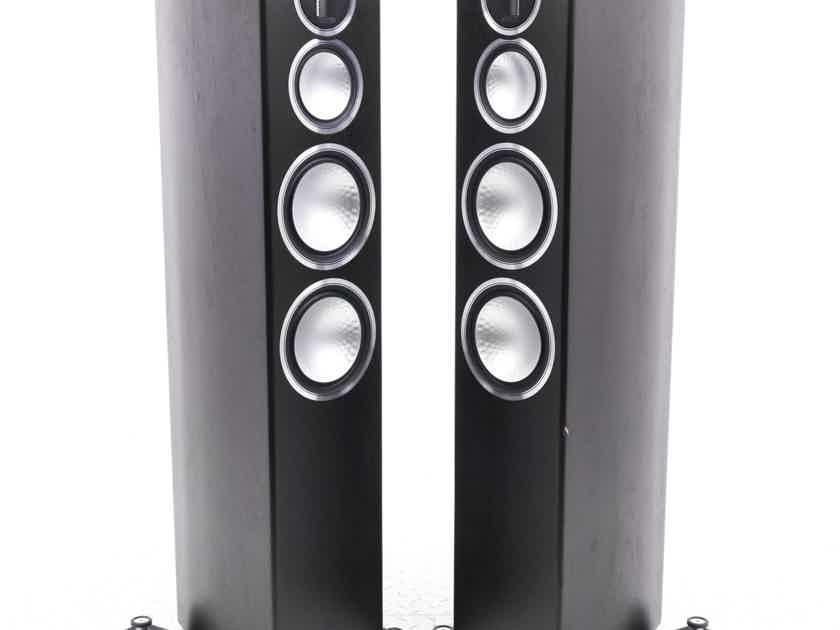 Monitor Audio Gold 300 Floorstanding Speakers; Dark Walnut Pair (1/5) (21021)