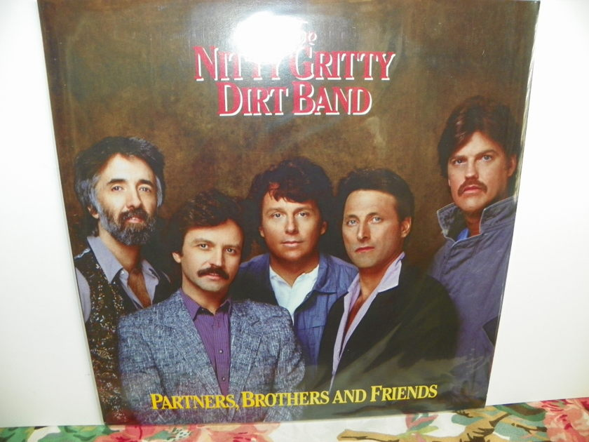 THE NITTY GRITTY DIRT BAND - PARTNERS, BROTHERS, AND FRIENDS NM