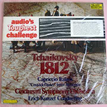 TCHAIKOVSKY KUNZEL 1812 Overture !SEALED! TELARC AUDIOP...