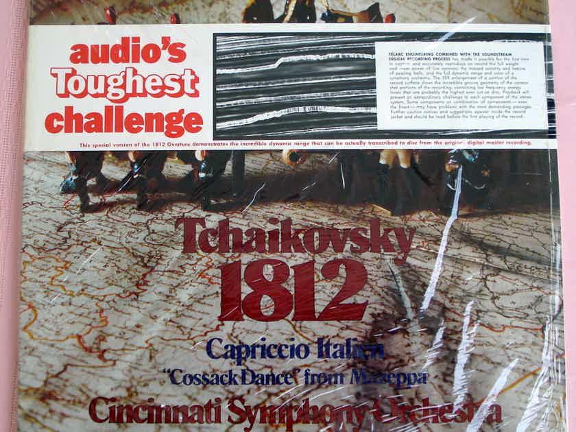 TCHAIKOVSKY KUNZEL 1812 Overture !SEALED! TELARC AUDIOPHILE DG 10041 !!SEALED!!