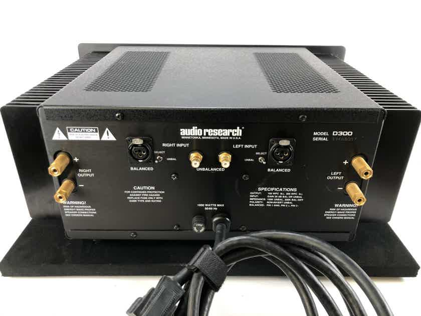 Audio Research D300 Solid State Amplifier - 160W