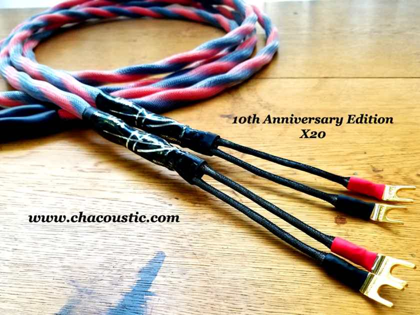 CH Acoustic X20 Speaker Cable 10th Anniversary Edition