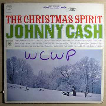 Johnny Cash - The Christmas Spirit -  1965 Radio Statio...