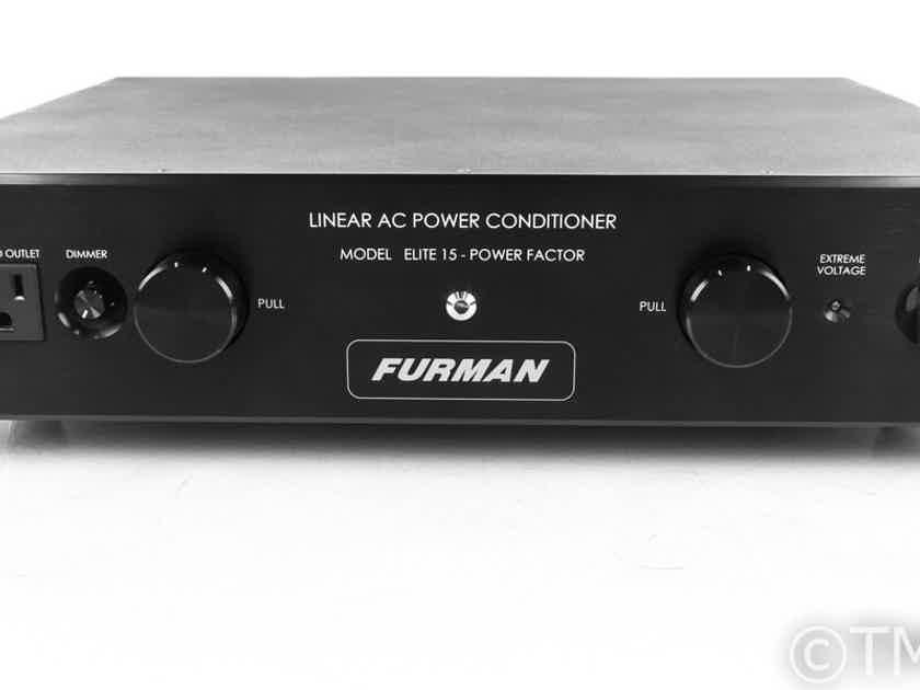 Furman Elite 15 Power Factor AC Power Line Conditioner; Elite-PF (21250)