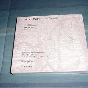 1993 ECM New Series SEALED CD ARVO PART Te Deum Tonu Kaljuste
