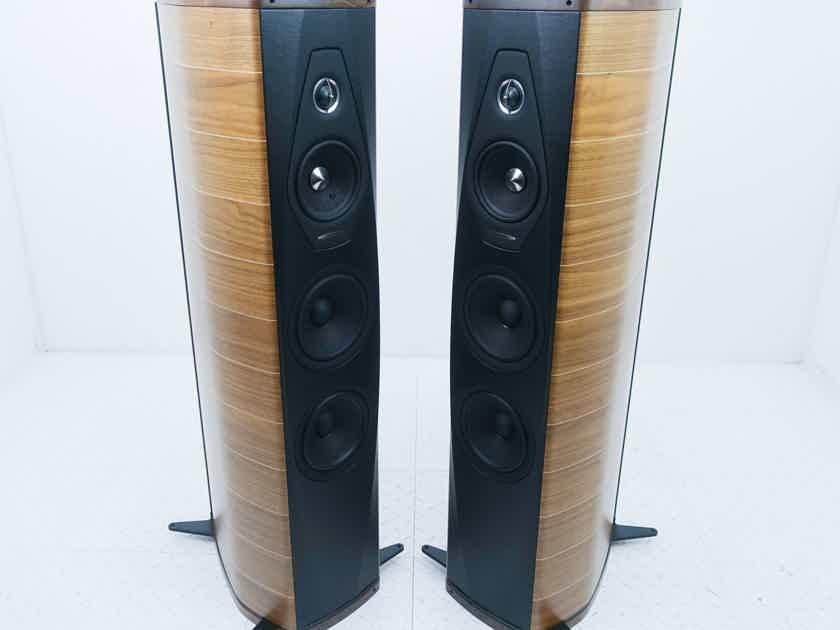Sonus Faber Olympica III Floorstanding Speakers Walnut Pair (15532)