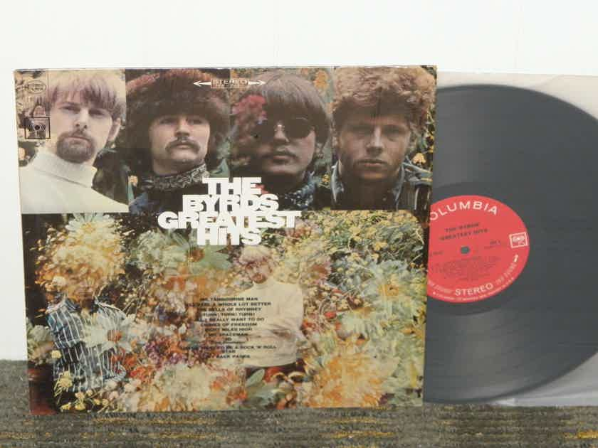 """The Byrds    """"The Byrds 25% off +free shipping """"  - Greatest Hits"""" Columbia CS 9516 <360> 2 eye label 2 EYE STEREO  Still in """"crinkly"""" shrink from the '60'ies."""