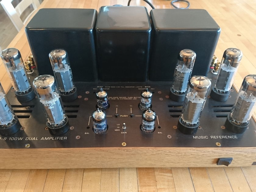 Music Reference RM-9 mkII Refurbished and upgraded 2017 by designer Roger Modjeski