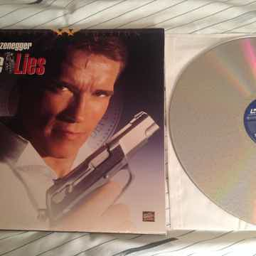 Arnold Schwarzenegger  True Lies THX Widescreen Laserdisc