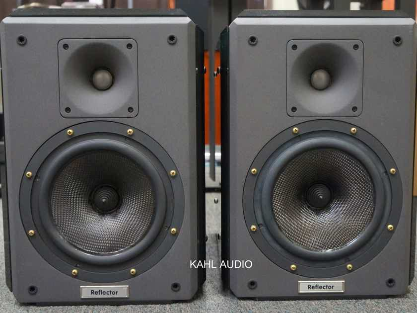 Reference 3A Reflector reference monitor speakers. Lots of positive reviews. $12,000 MSRP
