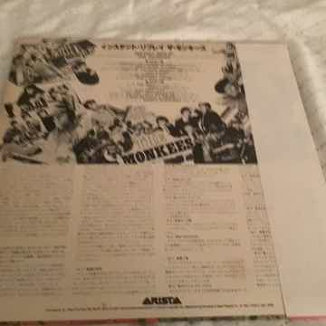 The Monkees Japan Vinyl Quiex NM With OBI  Instant Replay