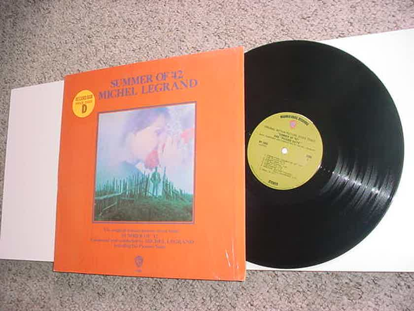 Michel Legrand lp record - Summer of 42 motion picture score in shrink see add