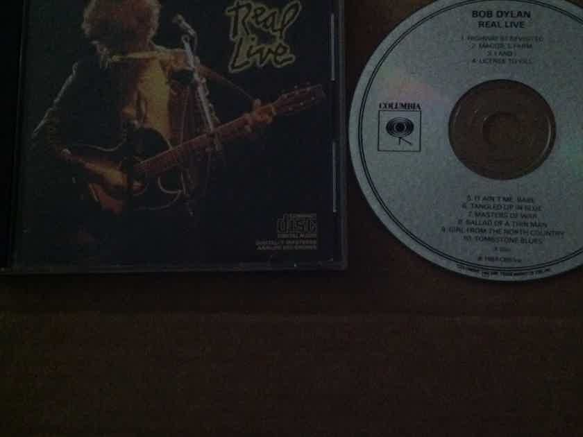Bob Dylan - Real Live Not Remastered Columbia Records Compact Disc 1984