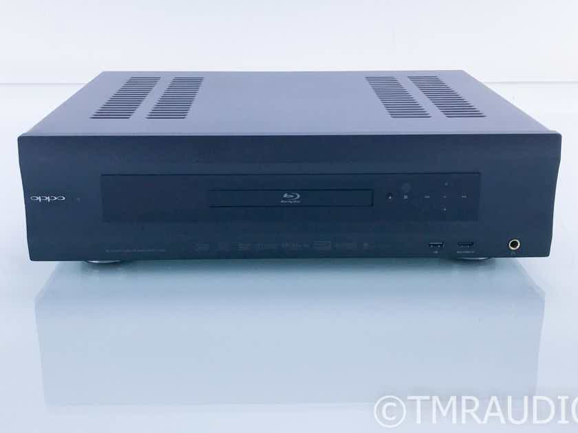 Oppo BDP-105D Universal Disk Player; BDP105D; Signature Edition Upgrade; Remote (17747)