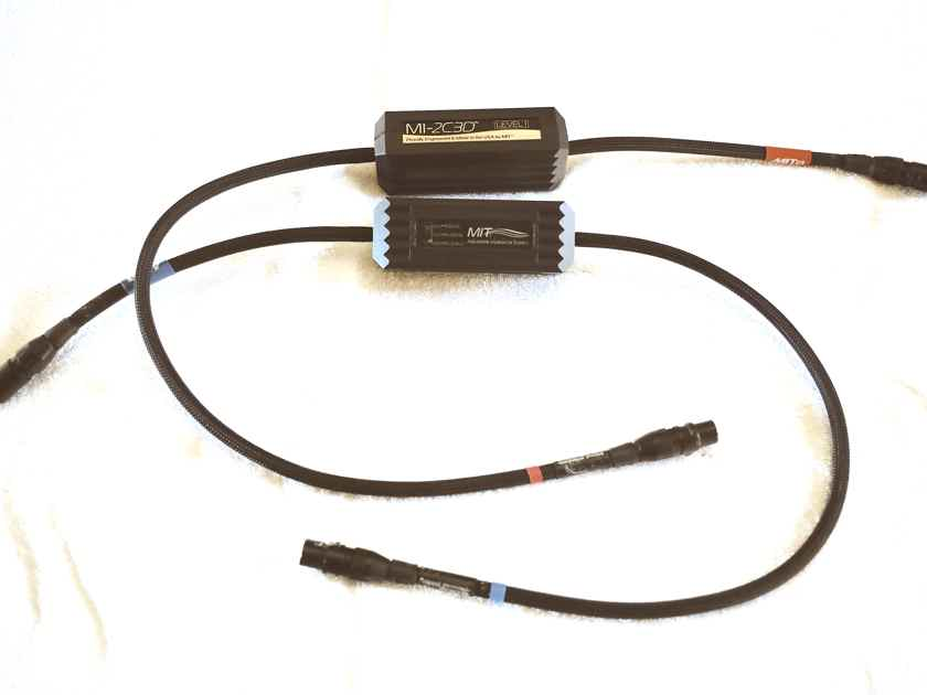MIT 2C3D Level 1 Interconnects, XLR, NEW/DEMO pair, 2 meter length