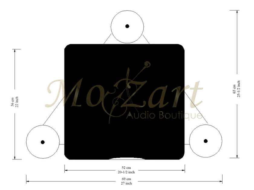 Audiophile Rack Audio Magic Hepta (stand finite elemente)