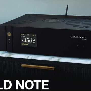Gold Note IS-1000 Deluxe Int. Amp - Mono & Stereo/Tone ...