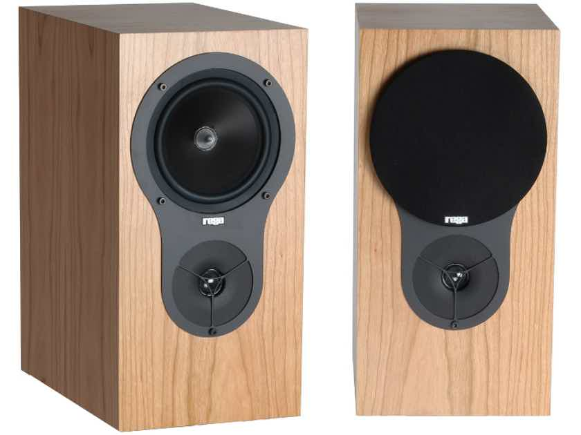 REGA RX1 Bookshelf Speakers (Walnut, Cherry, Black Ash): NEW-In-Box; Full Warranty; 35% Off