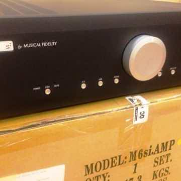 M6si integrated amp