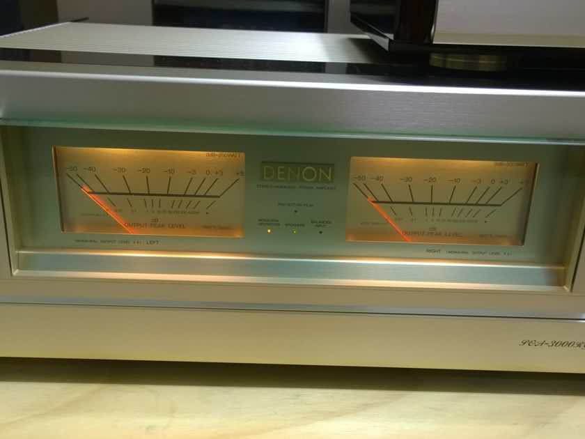 Denon POA-3000RG Power Amplifier and PRA-2000RG Preamp in Package Deal! Mint! US 120V