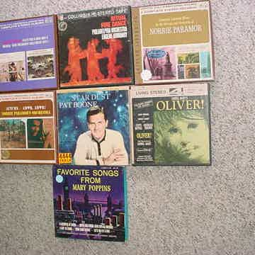 Reel to Reel tape lot of 7