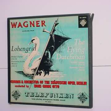 Classical 10 inch lp record Wagner choruses from Loheng...