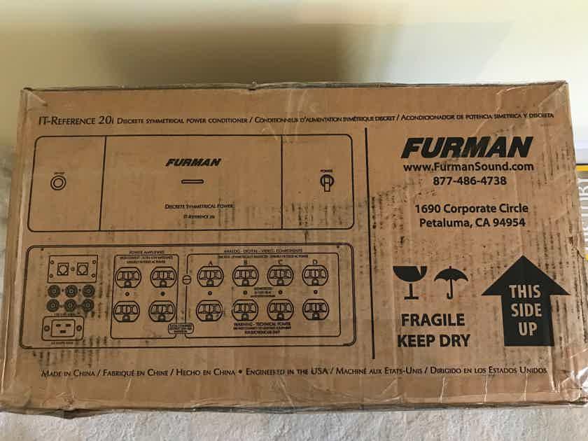 "Furman   IT-Reference 20i Discrete Symmetrical Power ""NEW"" in box. -(conrad johnson, PASS, McIntosh, Krell, Mark Levinson, Marantz)"