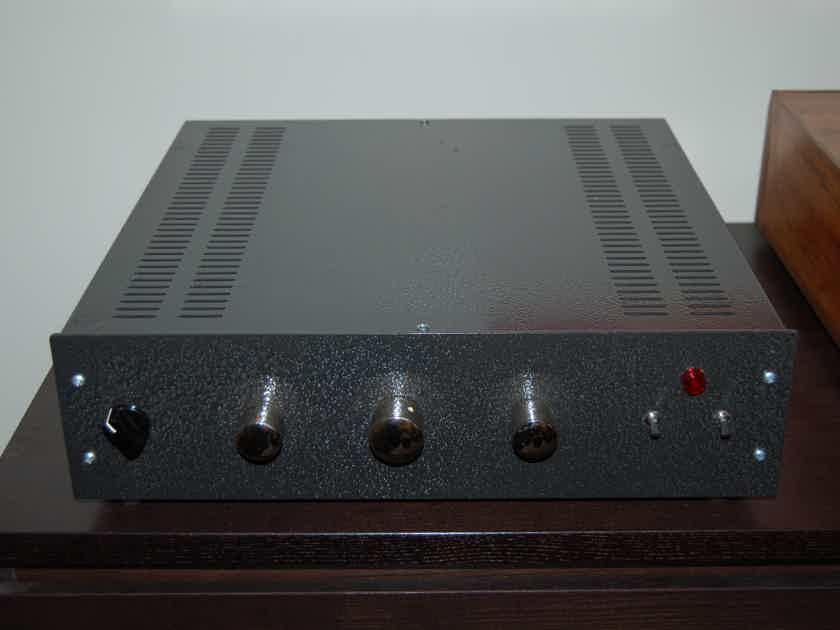 Pre-Amplifier, loaded obbligato caps elna attenuators